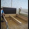 【居家生活】悅夢床墊。日興木業。實木貼皮架高式床架組