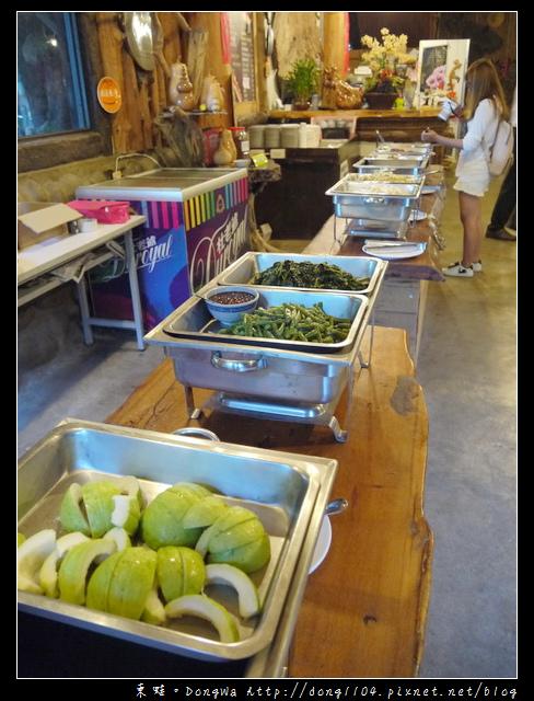【台南食記】吃遍西拉雅。大坑農場。在地限定餐點。住宿早餐吃到飽