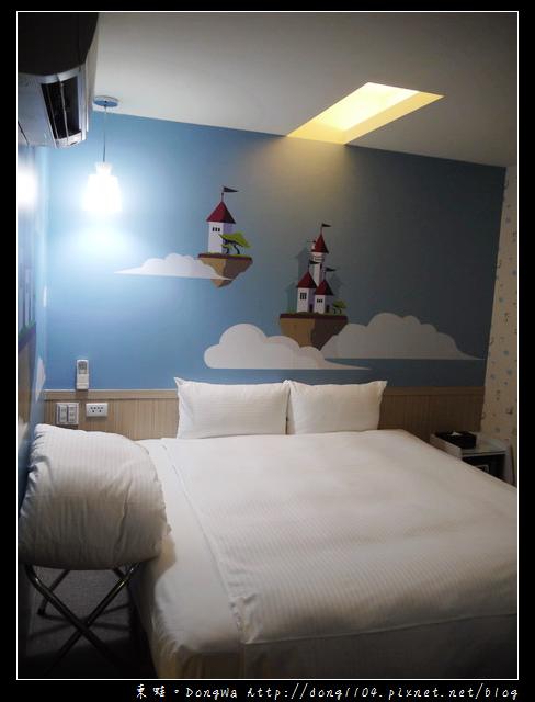 【台北住宿】清翼居童話館。超現實空間505房。麥當勞早餐