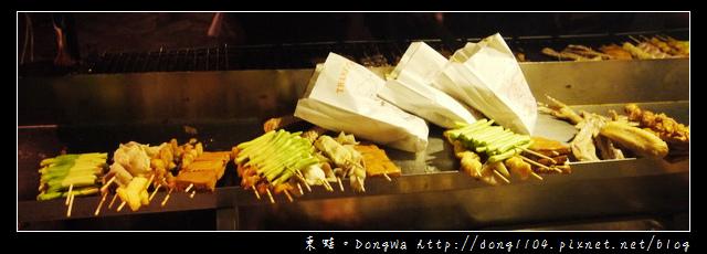 【中壢食記】龍岡圓環宵夜烤肉。豆干哥碳烤