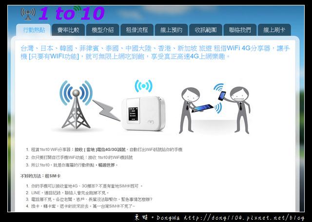 【大阪自助】租借日本WIFI 4G分享器。1to10 WiFi分享器