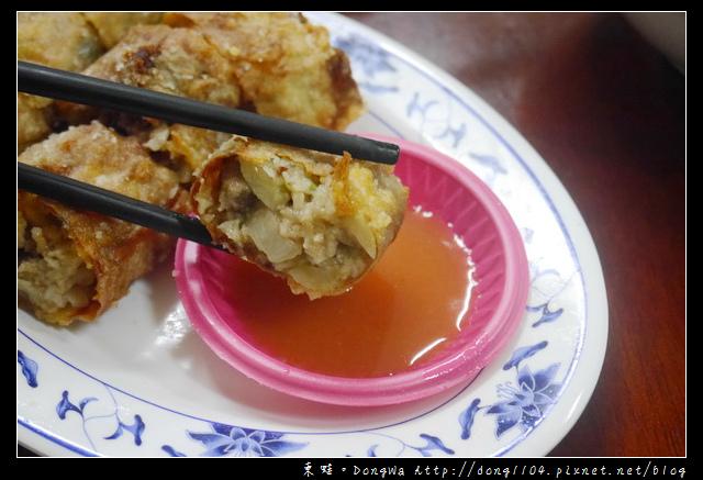 【宜蘭食記】正北門傳承蒜味肉羹。肝花肉捲