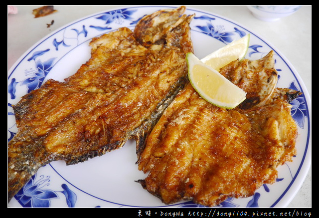 【宜蘭食記】員山大湖冷泉碳烤。碳烤福壽魚