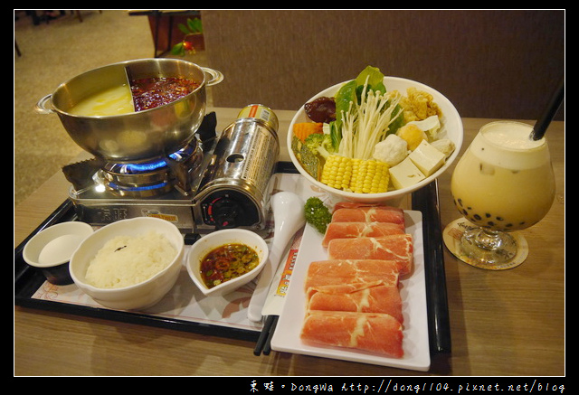【桃園食記】茶自點複合式餐飲大有家庭館。熱呼呼麻油雞套餐