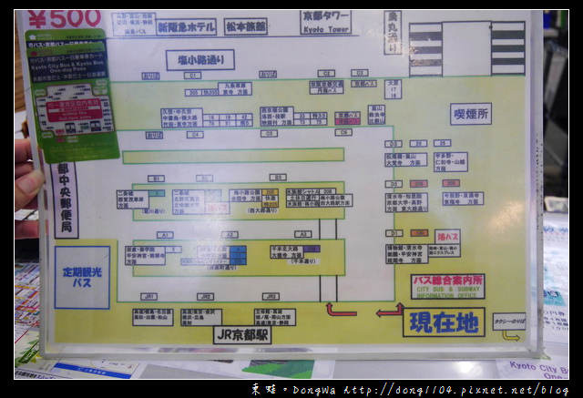 【大阪自助/自由行】暢遊京都最佳推薦:京都巴士一日券。京都車站地下街吃早餐