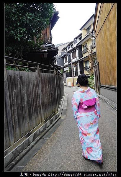 【大阪自助/自由行】京都和服體驗。夢館和服細部及街景寫真