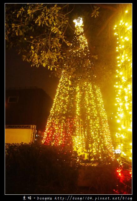 【中壢遊記】中原大學。2015亮晶晶聖誕樹