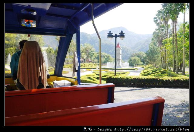 【南投遊記】泰雅渡假村。天空步道。滴水觀音像。遊園列車