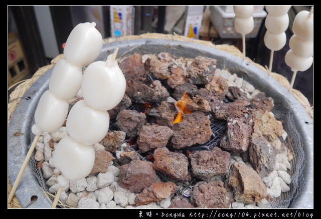 【大阪自助/自由行】奈良國立博物館。烤糯米丸子