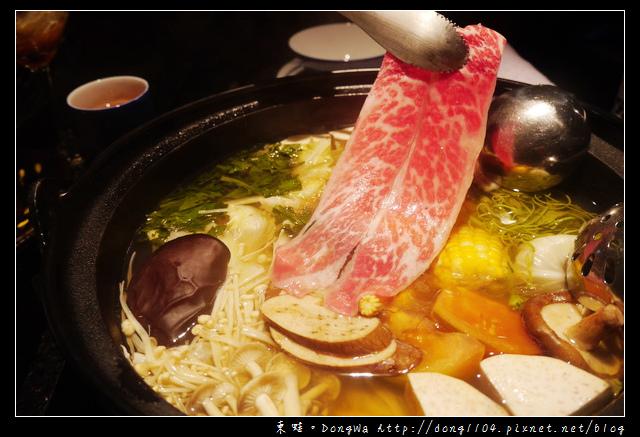【台北食記】台北火鍋。囍聚精緻鍋物。海陸雙人鍋物