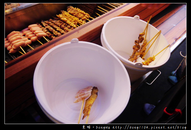 【台北食記】信義區串燒。焦糖楓日式無烟撒粉串燒永吉店