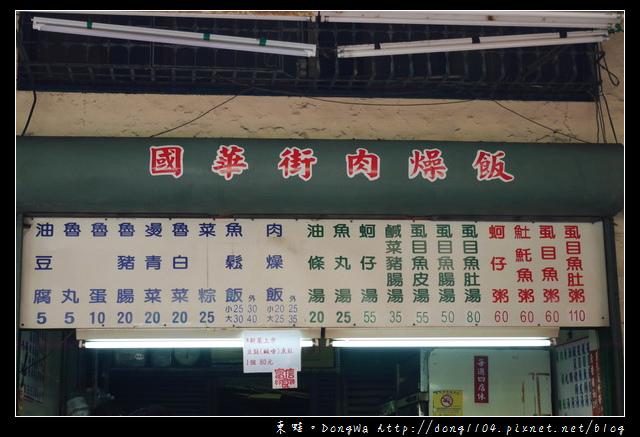 【台南食記】永樂市場小吃。國華街肉燥飯 虱目魚皮湯