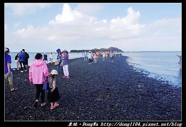 【澎湖遊記】推薦必去景點 摩西分海 澎湖湖西奎壁山赤嶼地質公園