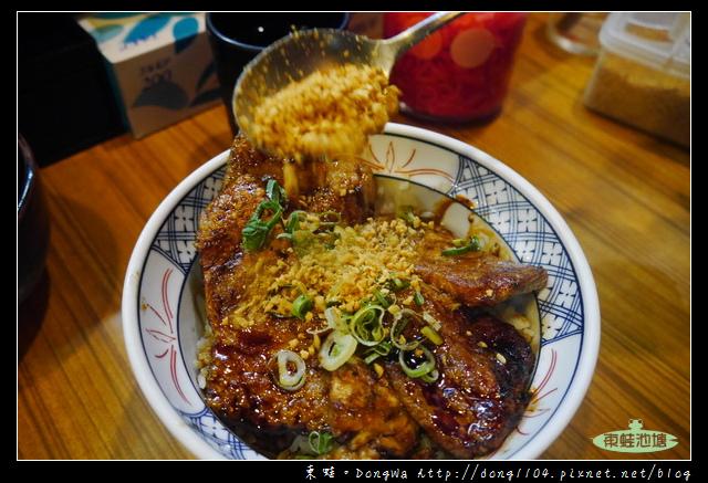 【大阪自助/自由行】日本橋黑門市場燒肉丼 中文菜單 天地人炭火豚丼