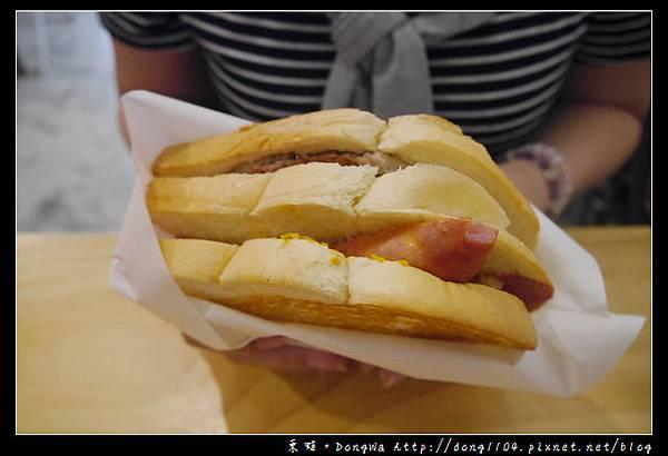 【中壢食記】中原大學早餐|工業風格手工漢堡肉|豪秋吐司