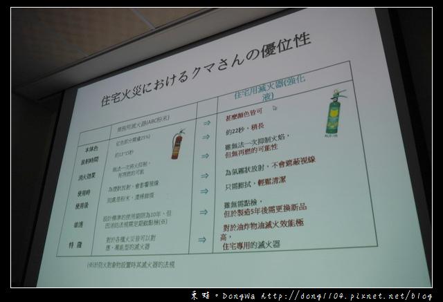 【居家防火很重要】日本原裝家用型滅火器 各類火災都適用 KUMA熊住宅用滅火器