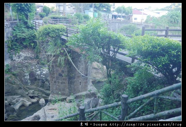 【基隆遊記】七堵一日遊景點 保甲路 翠谷橋壺穴景觀