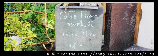 【花蓮食記】花蓮貓咪咖啡館|手作蛋糕下午茶| Caffe Fiore珈琲花