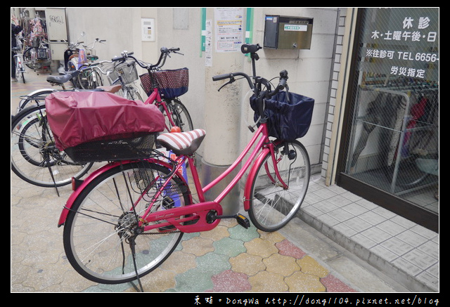 【大阪自助/自由行】大阪人的日常生活|隨處可見的 Chari 自行車