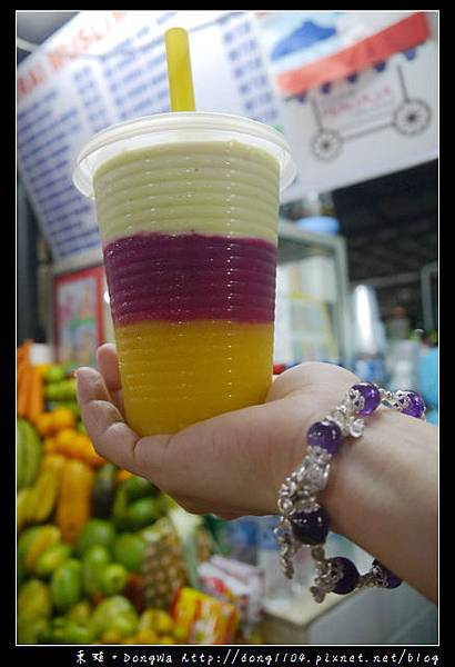 【沙巴自助/自由行】沙巴美食|丹絨亞路海灘夜市|三色果汁+烤雞翅