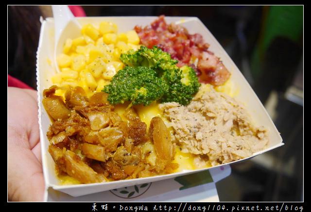 【中壢食記】中原夜市人氣小吃|南瓜起士醬+現刨乳酪|小丑烤馬鈴薯