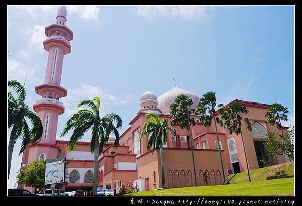 【沙巴自助/自由行】沙巴亞庇免費景點推薦 沙巴大學粉紅色清真寺