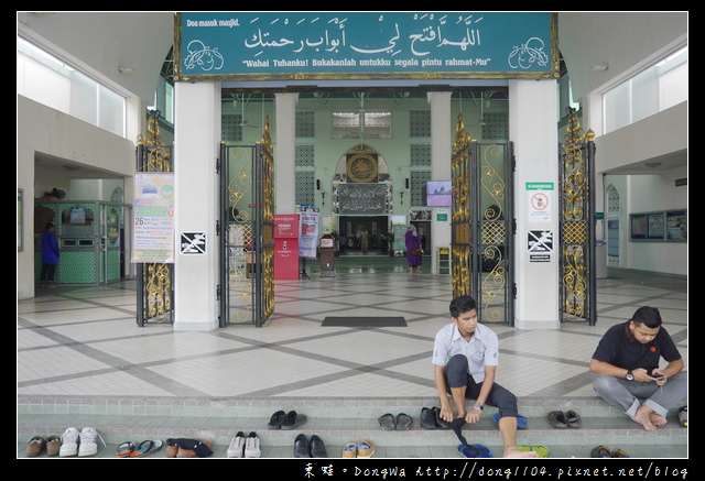 【沙巴自助/自由行】沙巴亞庇免費景點|穆斯林服裝初體驗|夢幻水上清真寺
