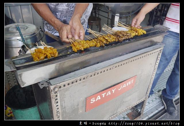 【沙巴自助/自由行】沙巴亞庇美食推薦|現點現烤好味沙嗲|悅昌茶室