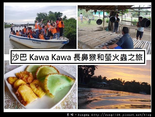 【沙巴自助/自由行】沙巴景點推薦|紅樹林雨林秘境| Kawa Kawa 探訪長鼻猴和螢火蟲之旅