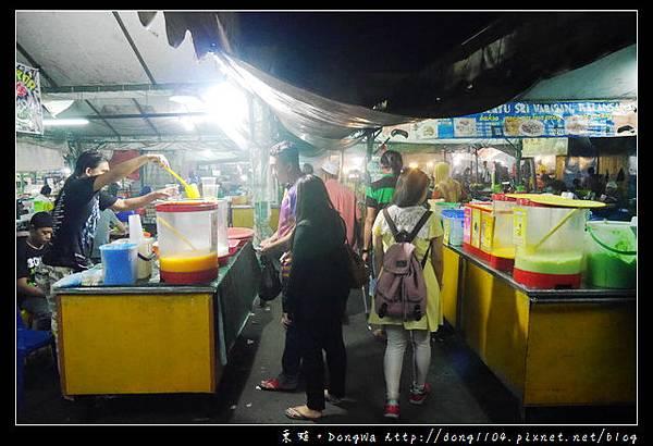 【沙巴自助/自由行】沙巴亞庇市區夜市   pasar malam sinsuran kota kinabalu   Sinsuran Night Market