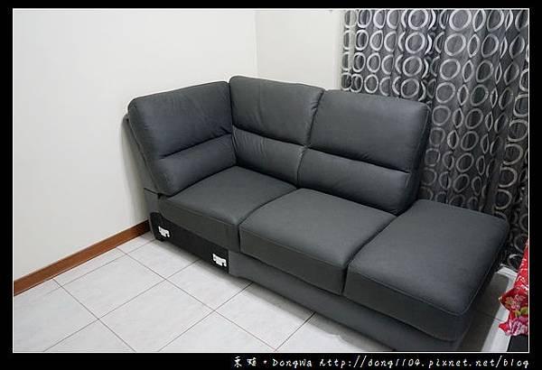 【開箱心得】桃園中壢沙發購買心得| NITORI 宜得利家居|左躺椅L型沙發 WALL GRY