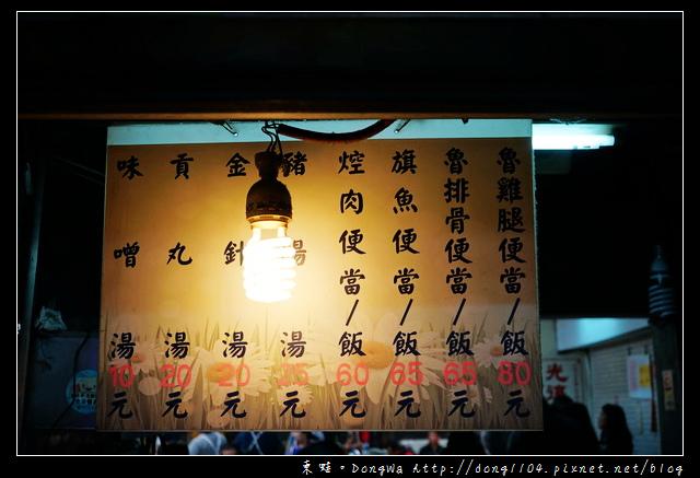 【基隆食記】基隆廟口宵夜|人氣排隊美食|21號魯排骨飯