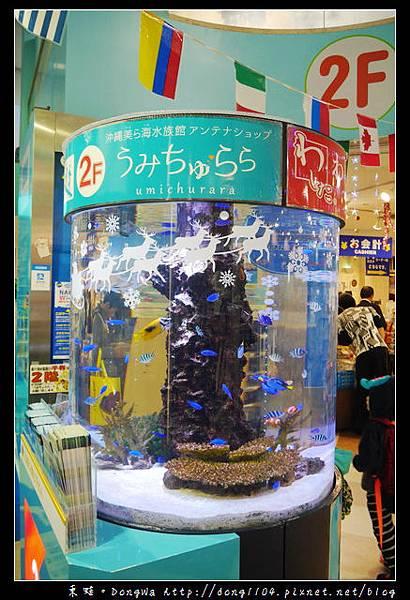 【沖繩自助/自由行】沖繩國際通免費景點|沖繩美麗海水族館直營店 うみちゅらら