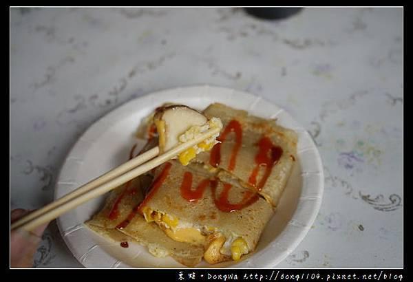 【台中食記】台中蛋餅 逢甲大學早餐 杏鮑菇特色蛋餅 逢甲心蛋餅