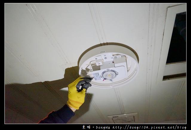 【開箱心得】特力屋燈具優質安裝服務|國際牌 LED 防水衛浴 吸頂燈 HH-LA102709