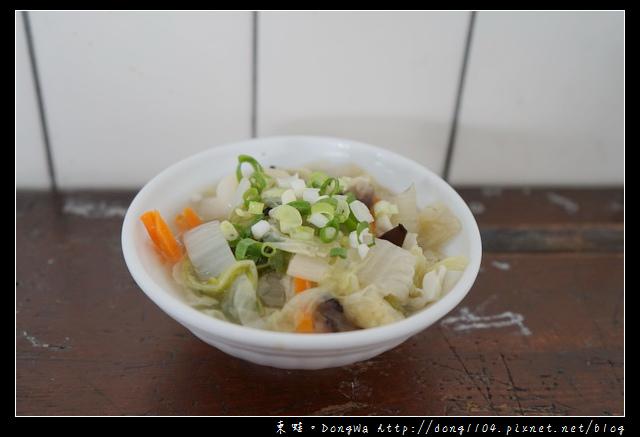 【台中食記】台中沙鹿美食推薦|月見豬油飯 拉仔麵|沙鹿拉仔麵