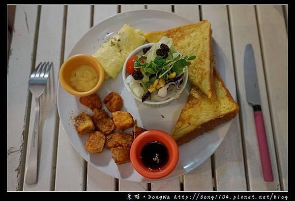 【新北食記】淡水早餐 特色早午餐推薦 壹號一大盤套餐 暢遊早餐店