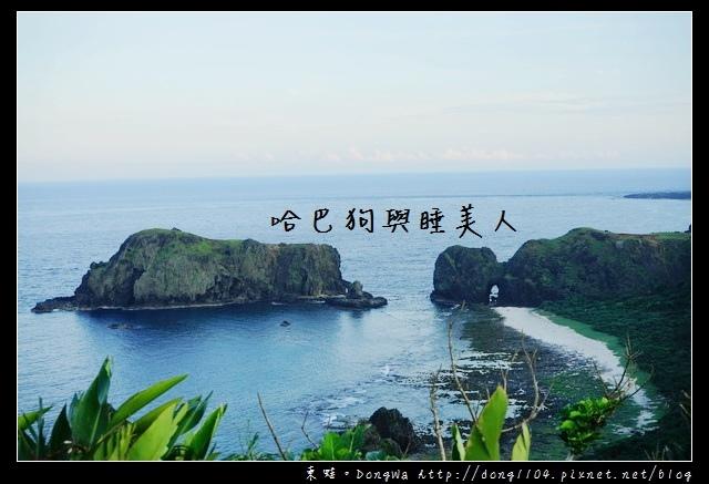 【綠島遊記】綠島景點推薦|東部海岸國家風景區 海參坪 睡美人與哈巴狗