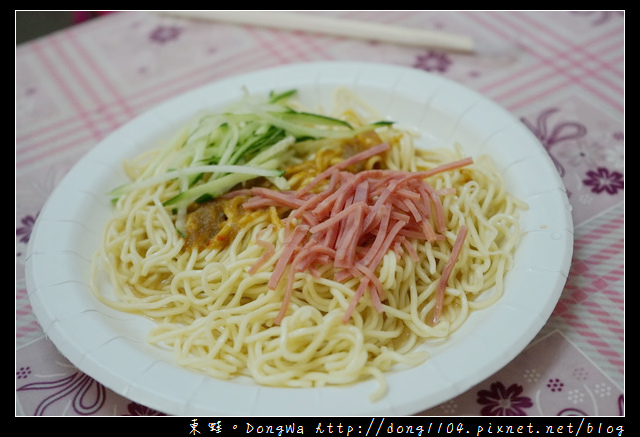 【台北食記】台北涼麵 士林夜市人氣美食推薦|家湘涼麵 香炸臭豆腐