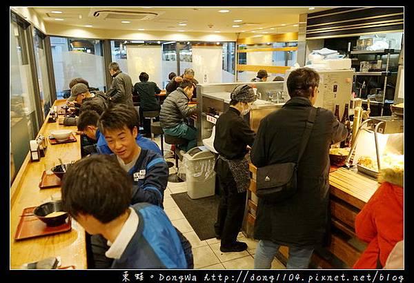 【大阪自助/自由行】京都車站月台美食推薦|烏龍麵+豬排飯只要600日圓|麺家プラスさがの