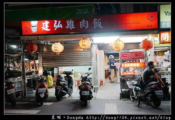【台北食記】松山宵夜推薦 南京東路五段小吃 建弘雞肉飯