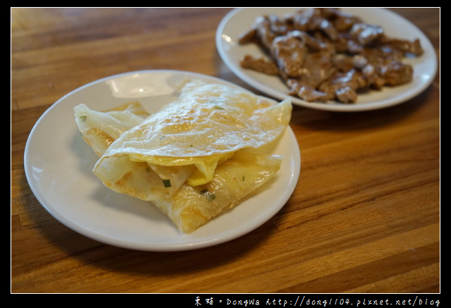 【台南住宿】儷景溫泉會館自助式早餐 現點現做的美味 蛋餅/燒肉/荷包蛋/薯條
