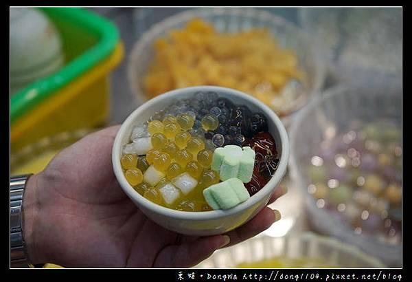 【新北食記】新莊自助剉冰|無限樣料加到平碗 每份50元|美侖冰館 新莊廟街內