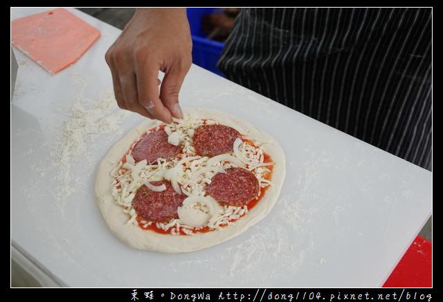 【94pizza】美式手工窯烤披薩 94秒出爐就是美味 桃園市客家文化館 日頭花假日廣場
