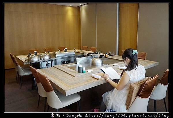 【台北食記】台北鐵板燒 全台最便宜活龍蝦海陸套餐只要1390元 明水然無菜單鐵板燒慶城店