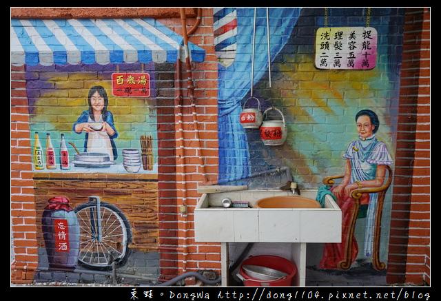 【桃園遊記】蘆竹南崁免費景點|台灣農村風格 坑口社區彩繪村