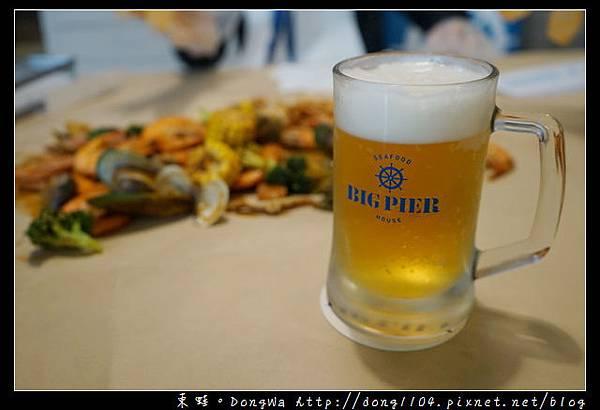 【華泰名品城美食推薦】Big Pier 大碼頭海鮮啤酒屋 美式手抓海鮮 美味活龍蝦雙堡