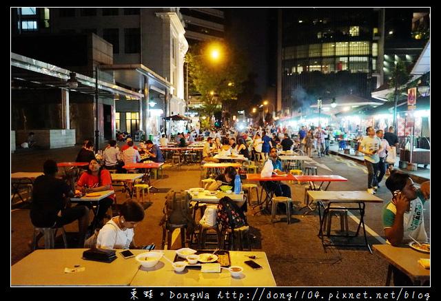 【新加坡自助/自由行】新加坡美食推薦 Lau Pa Sat 老巴剎沙嗲街