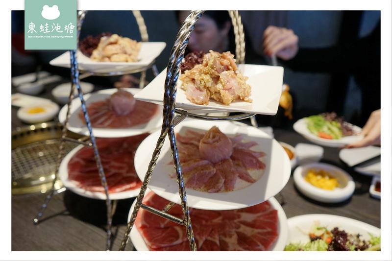 【台中燒肉推薦】單點式燒肉 2880三人套餐 屋馬燒肉園邸店