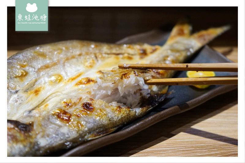 【桃園蘆竹南崁一夜干專賣】特色吧台水族箱 免費鹽麴魚片湯 千夜一夜干丼飯